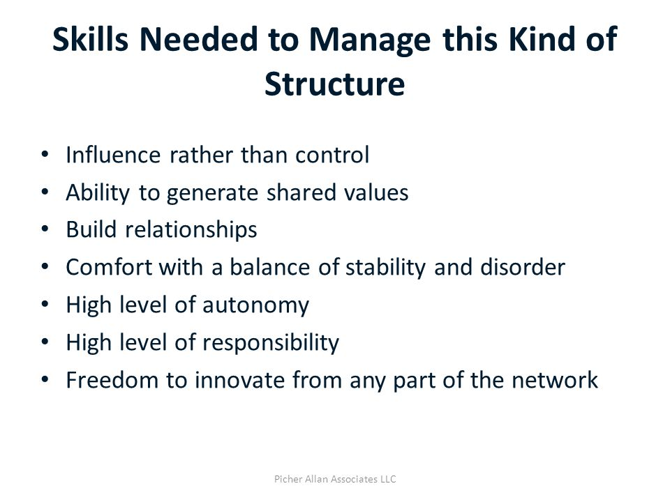 Principles for Managing Complex Adaptive Systems 3.