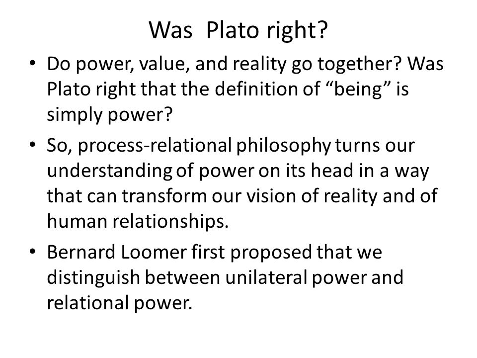 What are the components of relational power.