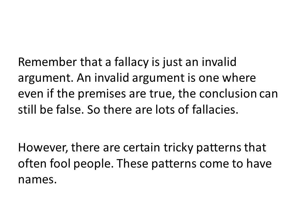 Straw Man Fallacy