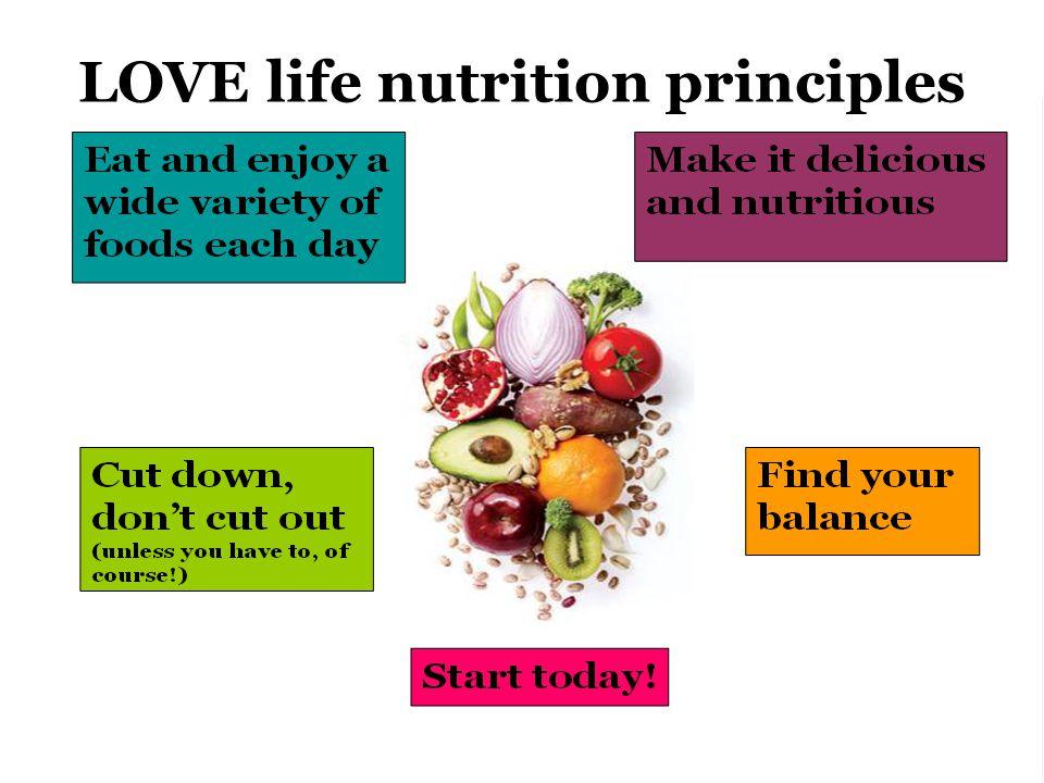 LOVE life nutrition principles