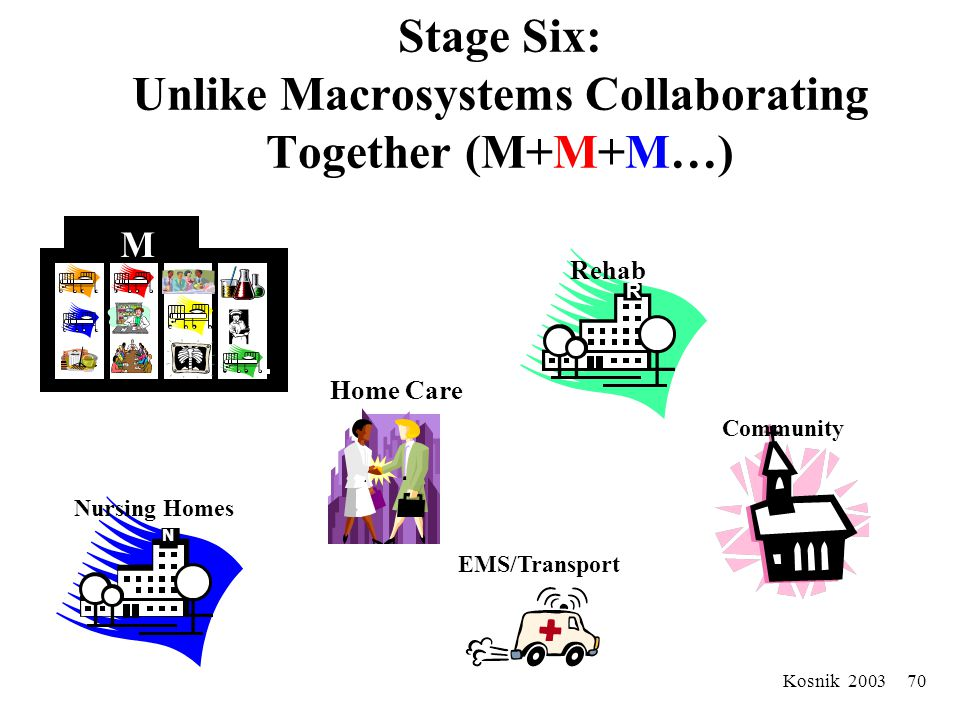 Kosnik 2003 69 The Biology of Cooperation Some components are better suited to support specific components, as well as the macro-org –(i.e. Environmen