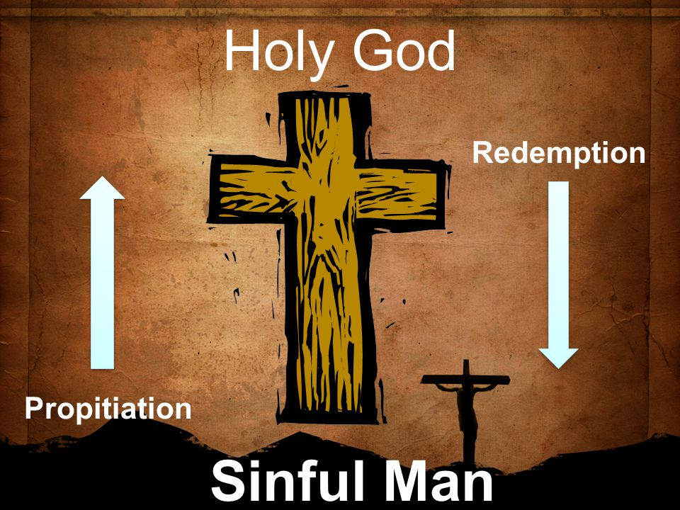 Holy God Sinful Man Redemption Propitiation