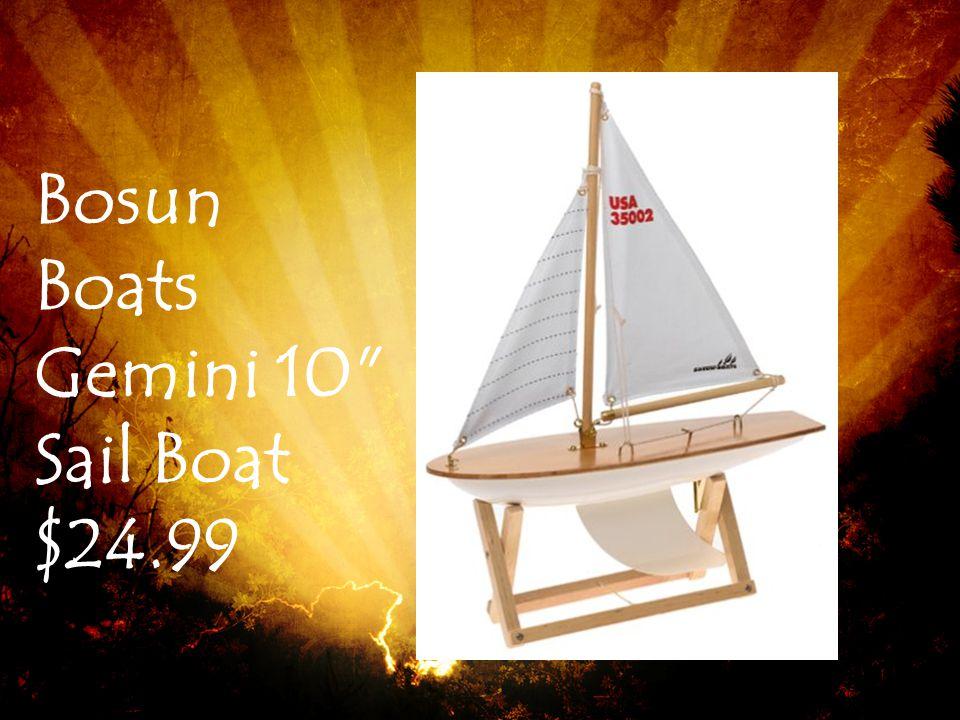 Bosun Boats Gemini 10 Sail Boat $24.99