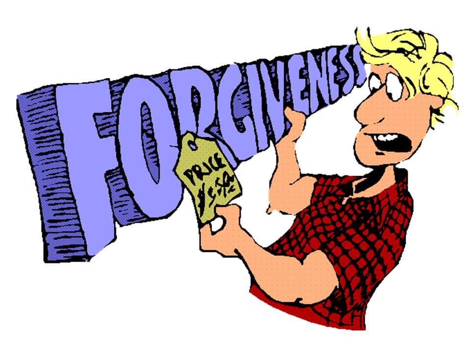 Two Demands of Forgiveness Demand # 1 Cancel the Debt New Testament Concept Greek Word: aphiemi Literally: Open the hand and let go