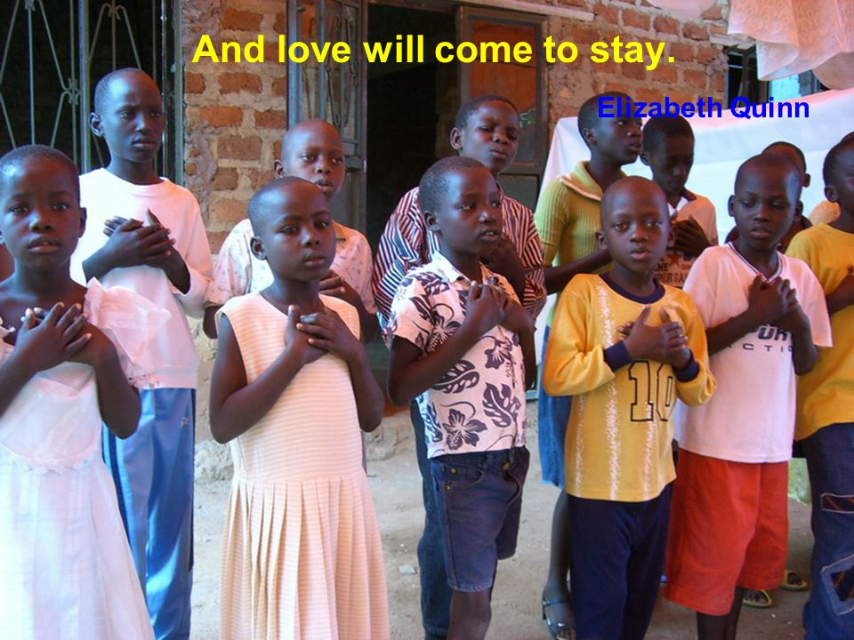 Give love to the children