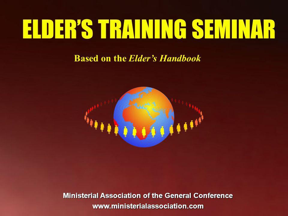 Chapter 6 The Elder and Church Nurture