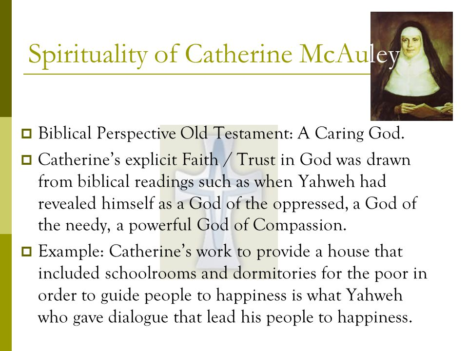 Biblical Perspective Old Testament: A Caring God.