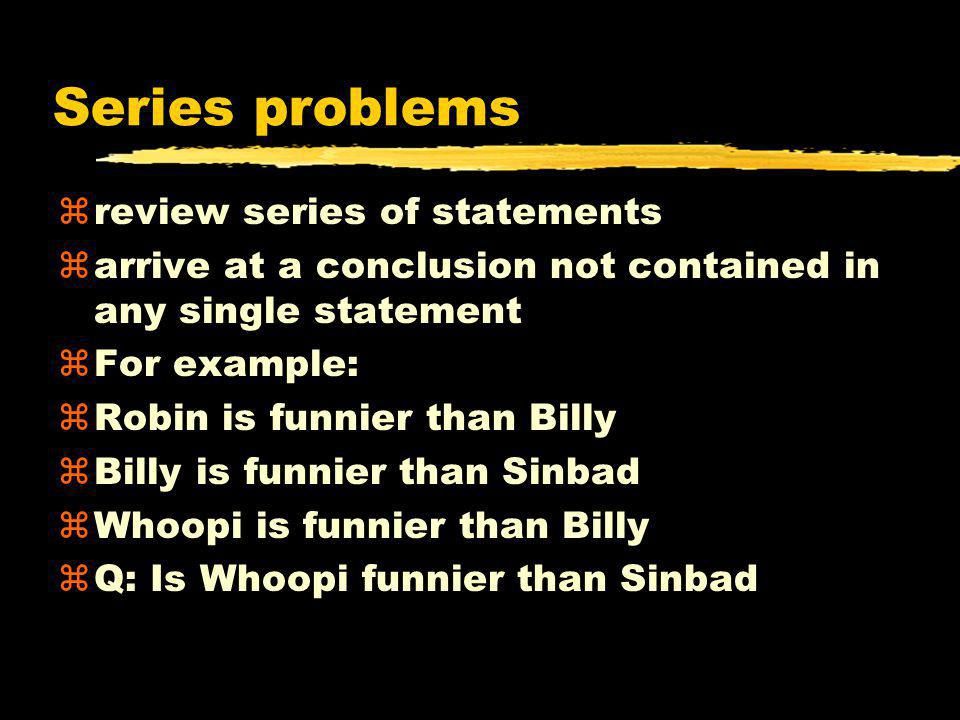 Strategies for solving problems z1.Break mental sets z2.