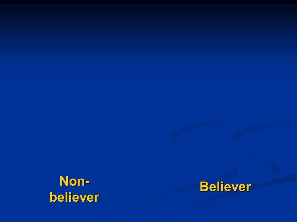 Believer Non- believer