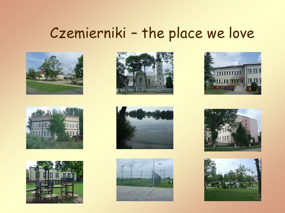 The Market place is the heart of Czemierniki.