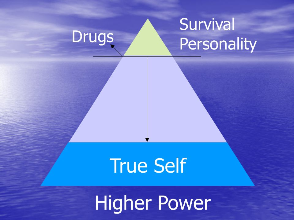 True Self Drugs Survival Personality Higher Power