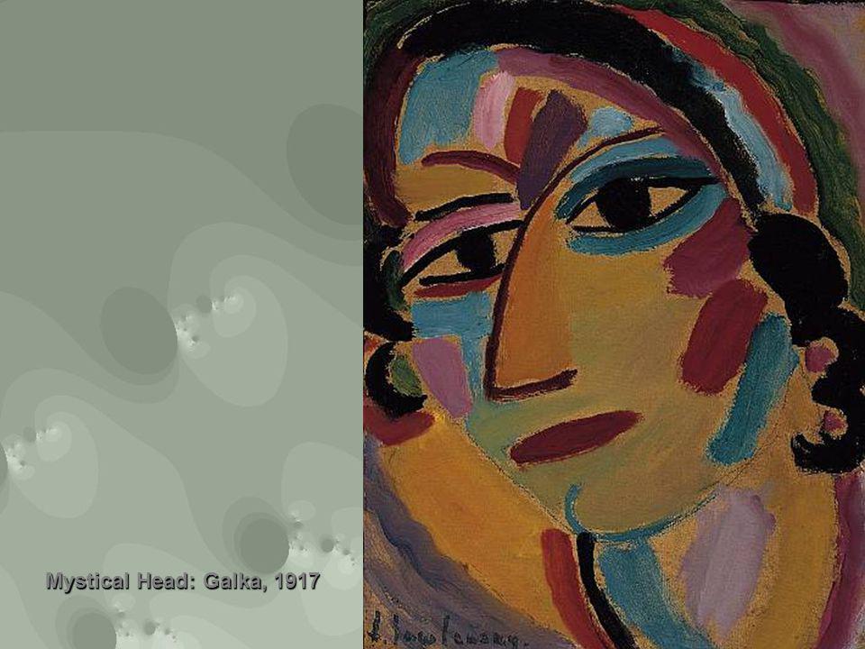 Mystical Head: Galka, 1917