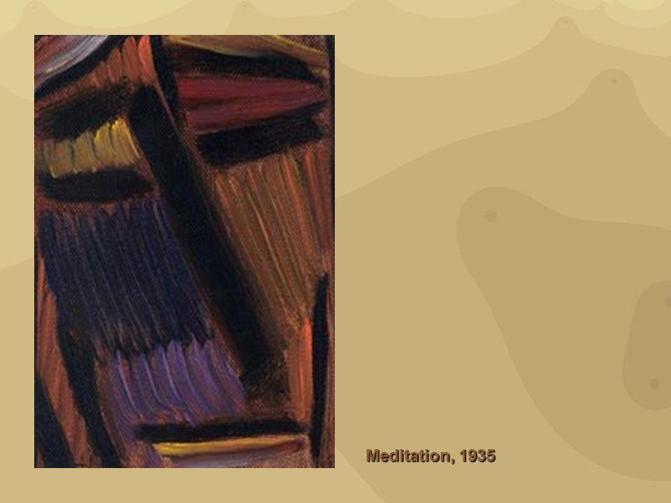 Meditation, 1935