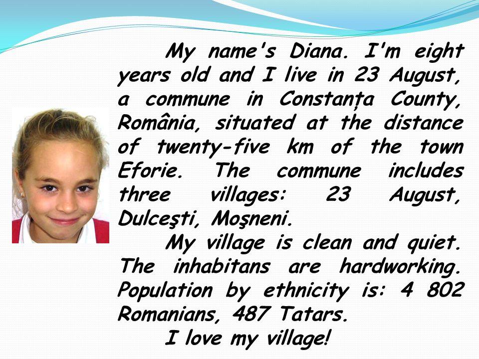 My name s Diana.