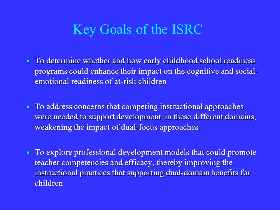 Study 1: Head Start RCT 248 children in 20 classrooms: 248 children in 20 classrooms: 10 classrooms used PATHS 10 classrooms used PATHS 10 comparison Head Start classrooms 10 comparison Head Start classrooms Effects of Receiving PATHS Effects of Receiving PATHS Teachers reported higher levels of social-emotional competence & lower levels of social withdrawal Teachers reported higher levels of social-emotional competence & lower levels of social withdrawal Parents reported higher levels of social-emotional competence Parents reported higher levels of social-emotional competence Children were better at identifying emotions, showed less anger bias Children were better at identifying emotions, showed less anger bias Domitrovich, C.