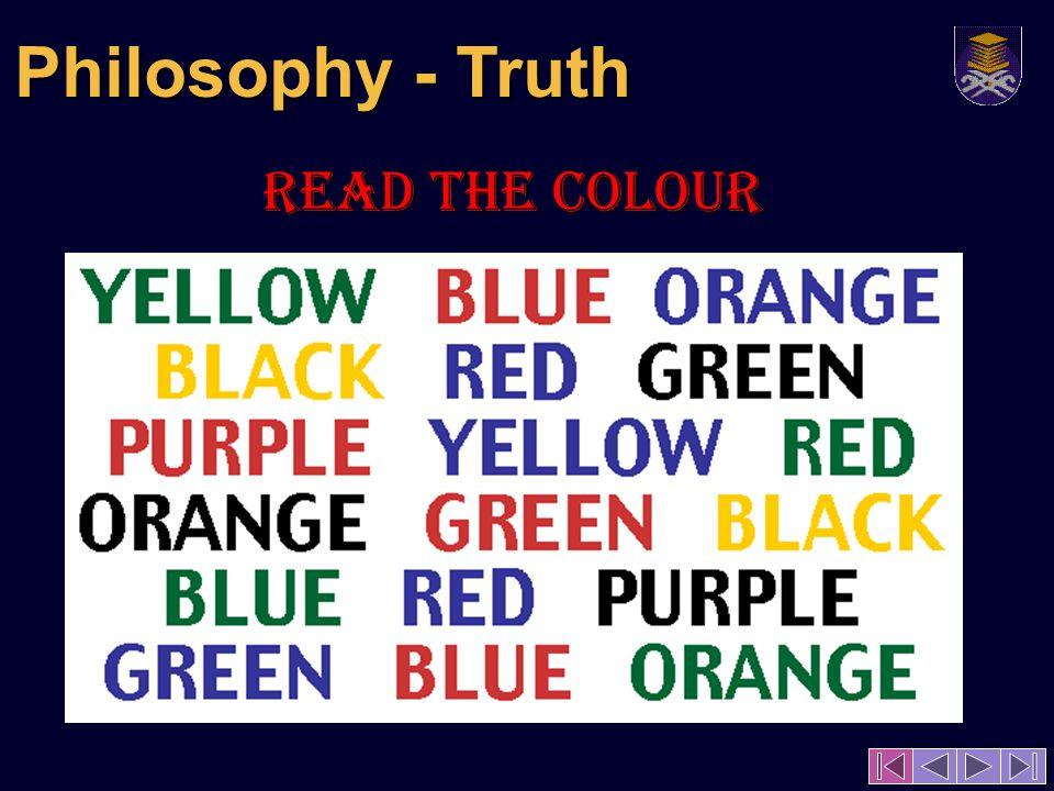READ the colour