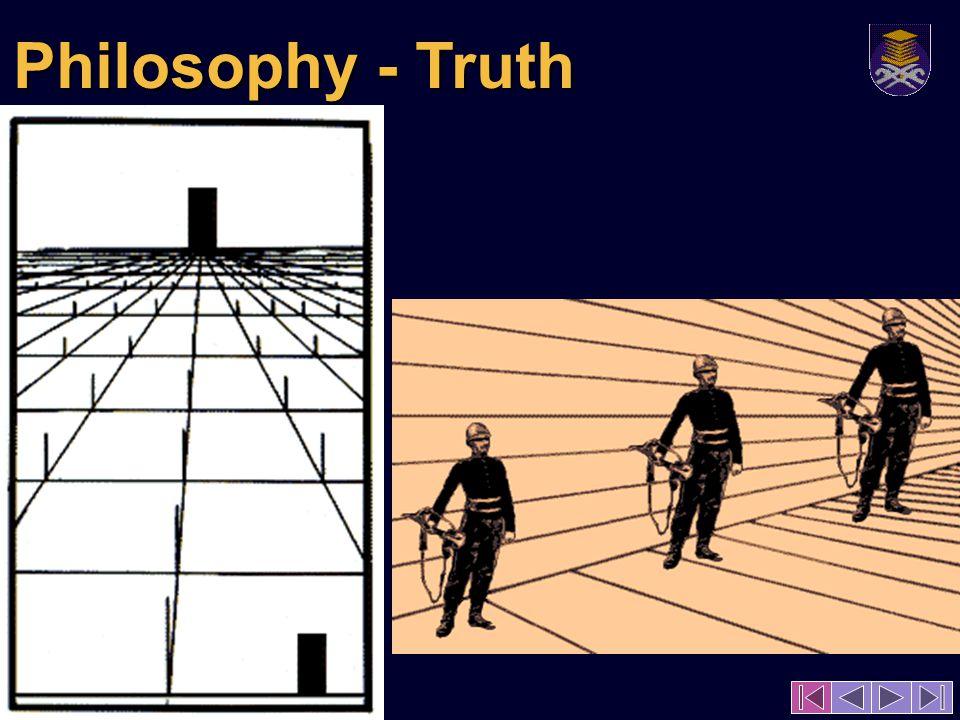 Philosophy - Truth