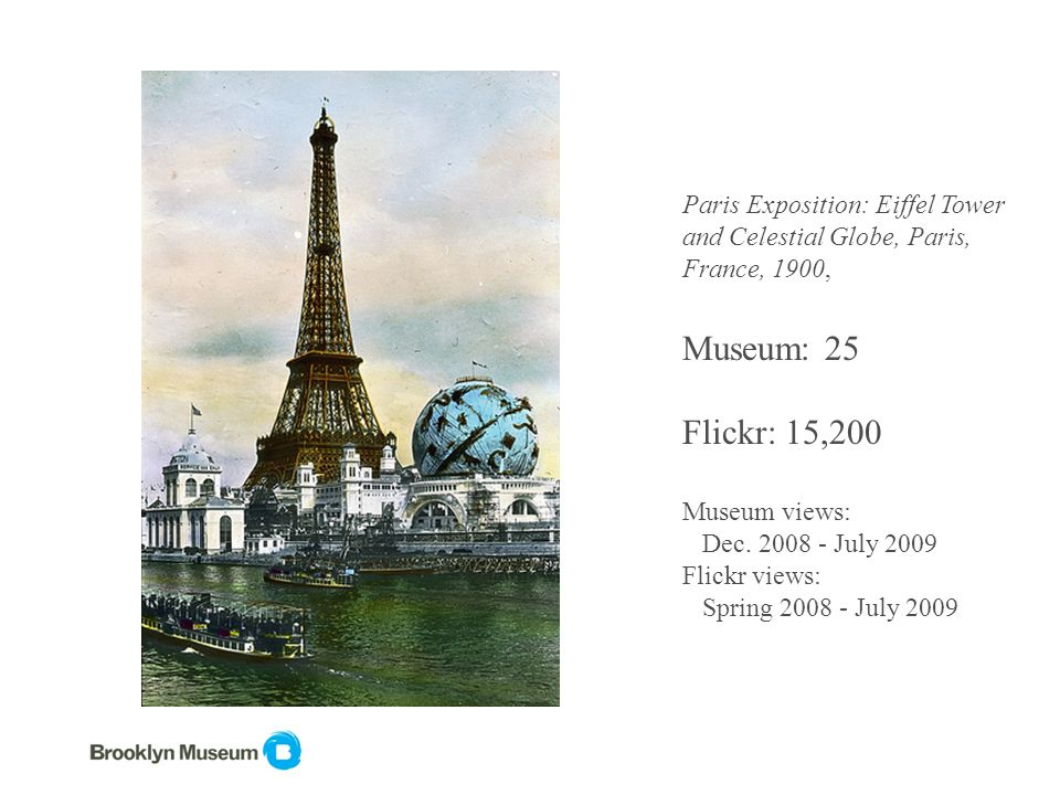 Paris Exposition: Eiffel Tower and Celestial Globe, Paris, France, 1900, Museum: 25 Flickr: 15,200 Museum views: Dec.