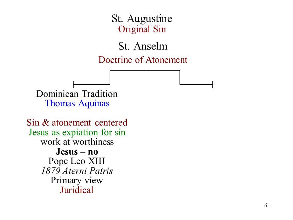 6 St. Augustine Original Sin St.