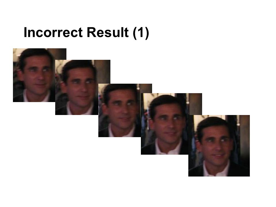 Incorrect Result (1)