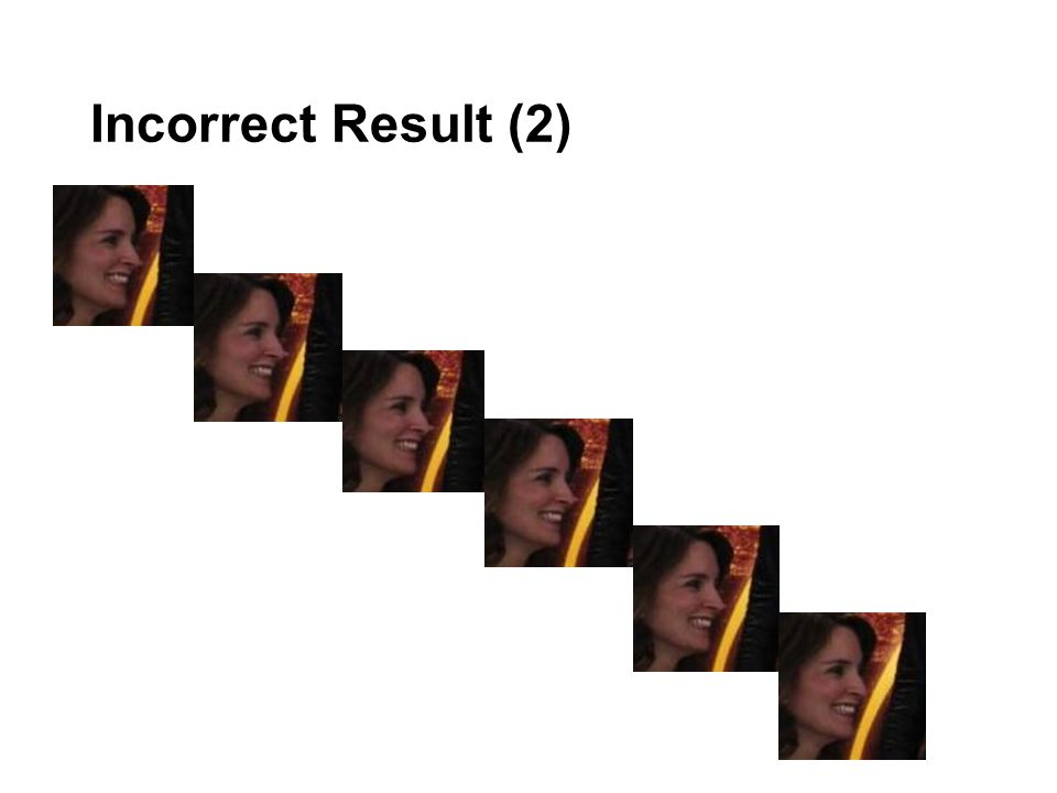 Incorrect Result (2)