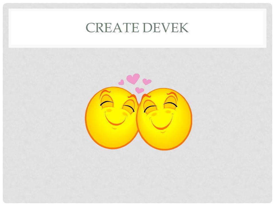CREATE DEVEK