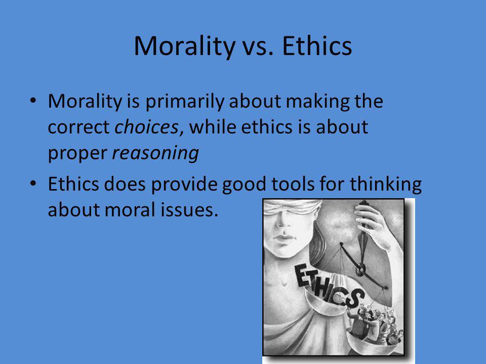 Morality vs.
