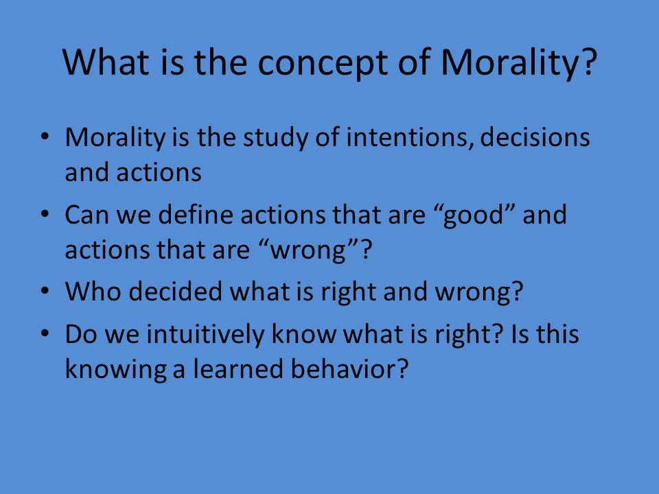 Are there Universal Moral Rules.