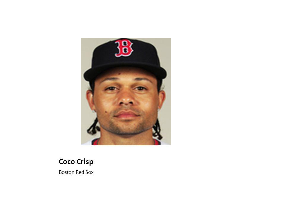 Coco Crisp Boston Red Sox