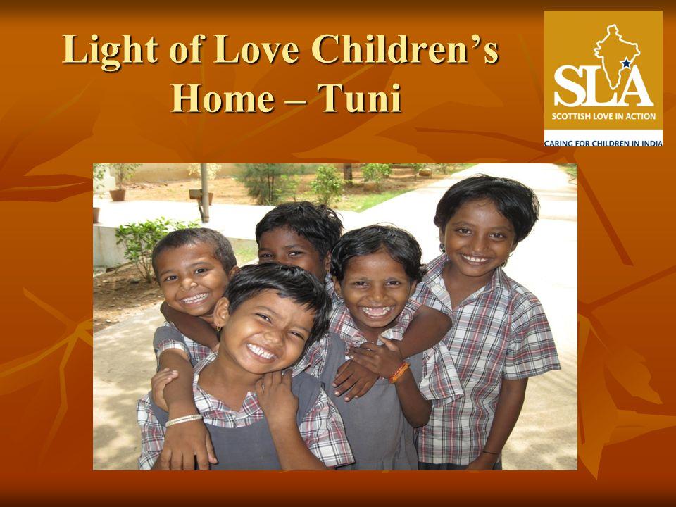 Light of Love Childrens Home – Tuni
