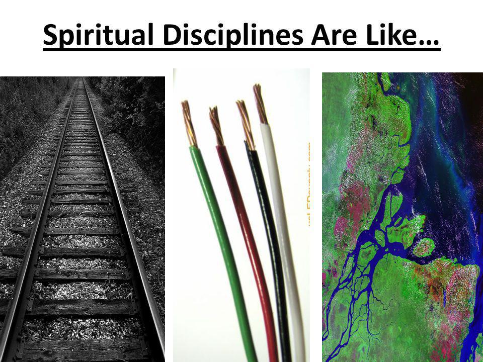 Spiritual Disciplines Are Like…