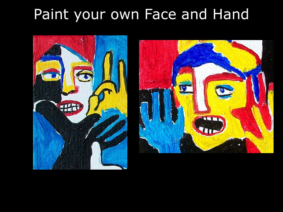 Paint your own Face and Hand