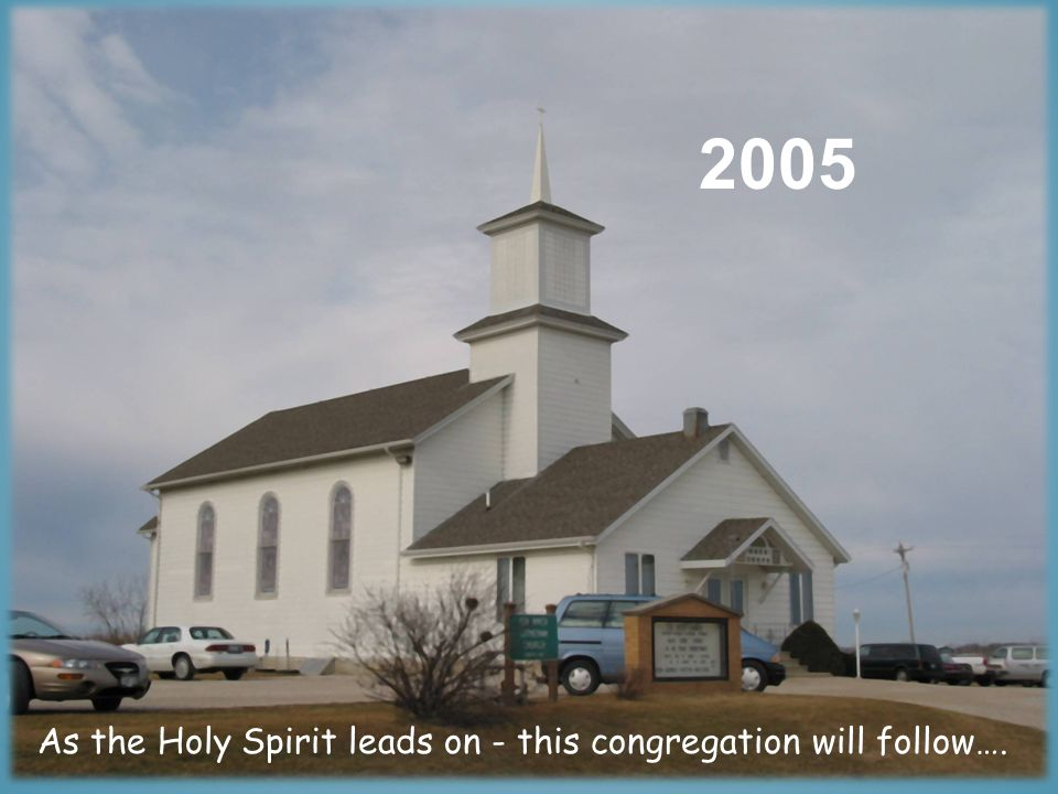 1862 There have been many links in the chain of faithfulness within this congregation….