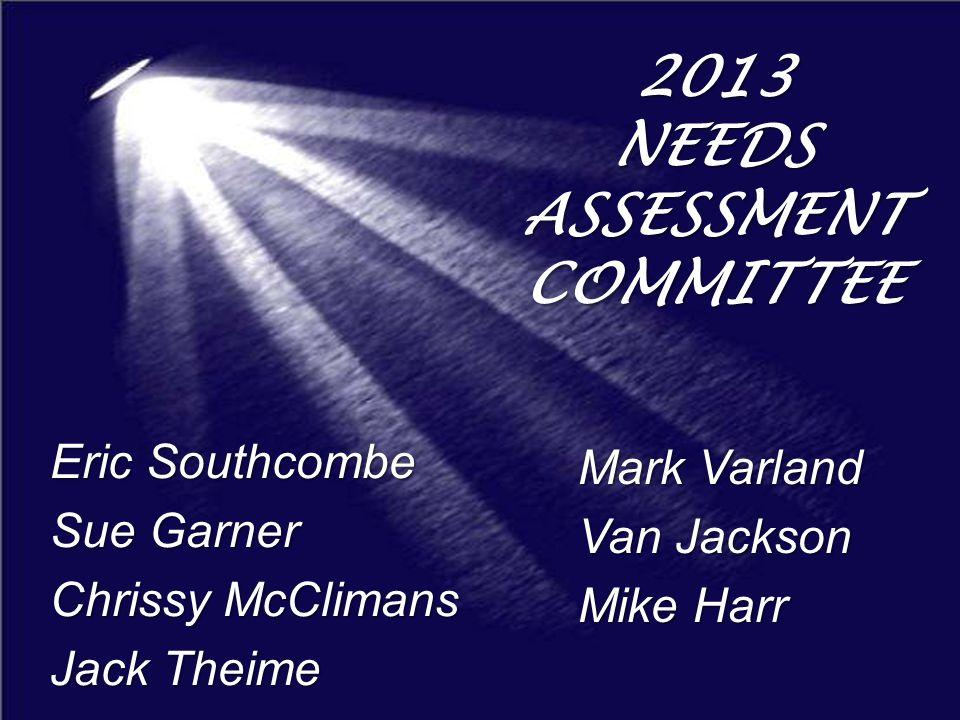 FOX RIVER LUTHERAN CHURCH 2013 NEEDS ASSESSMENT SUMMARY
