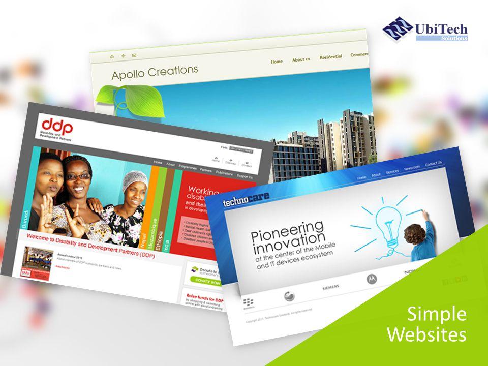 Simple Websites