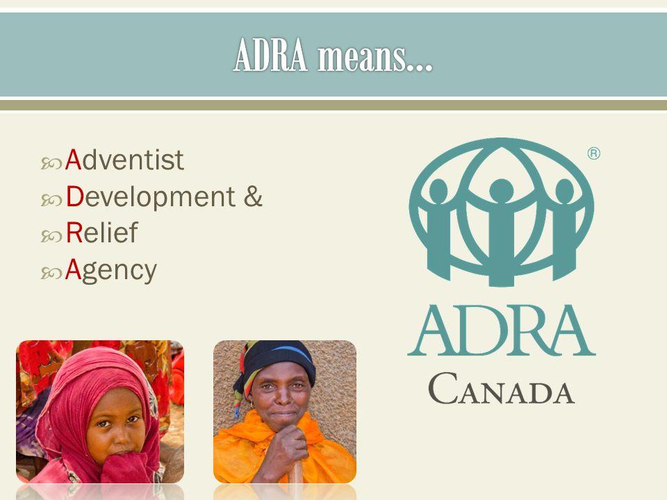 Adventist Development & Relief Agency