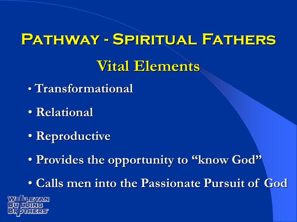 Transformational Transformational Relational Relational Reproductive Reproductive Provides the opportunity to know God Provides the opportunity to kno