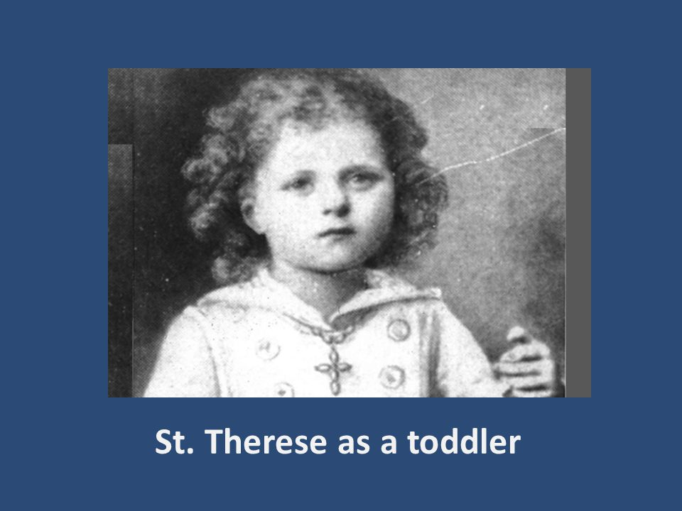 St. Therese and her sister Celine