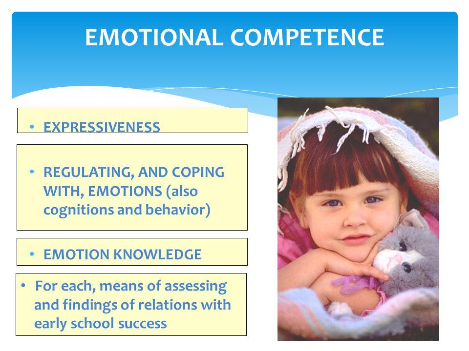 EMOTIONAL EXPRESSIVENESS BASIC EMOTIONS BLENDS SOCIAL EMOTIONS STABILITY VOLUNTARY MANAGEMENT