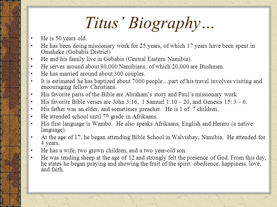Titus Message…Repent & Be Baptized Acts 2: 36-42 36 Therefore let all the house of Israel know for certain that God has made Him both Lord and [ai] Christthis Jesus whom you crucified.