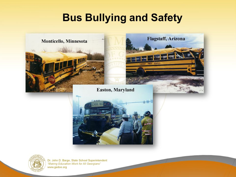 Bus Bullying and Safety
