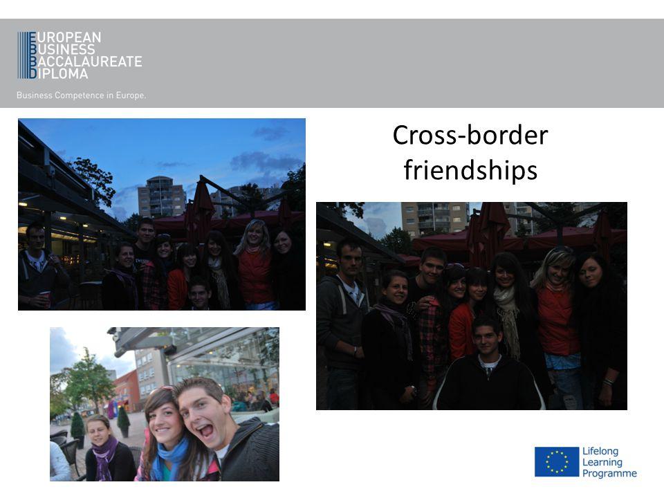 Cross-border friendships