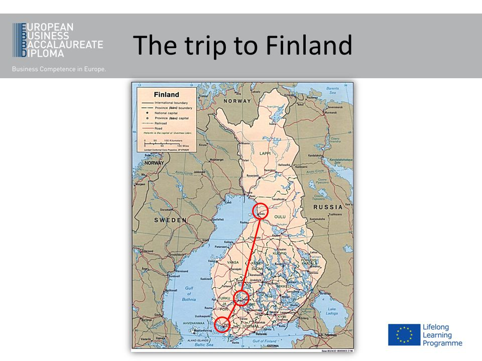 The trip to Finland