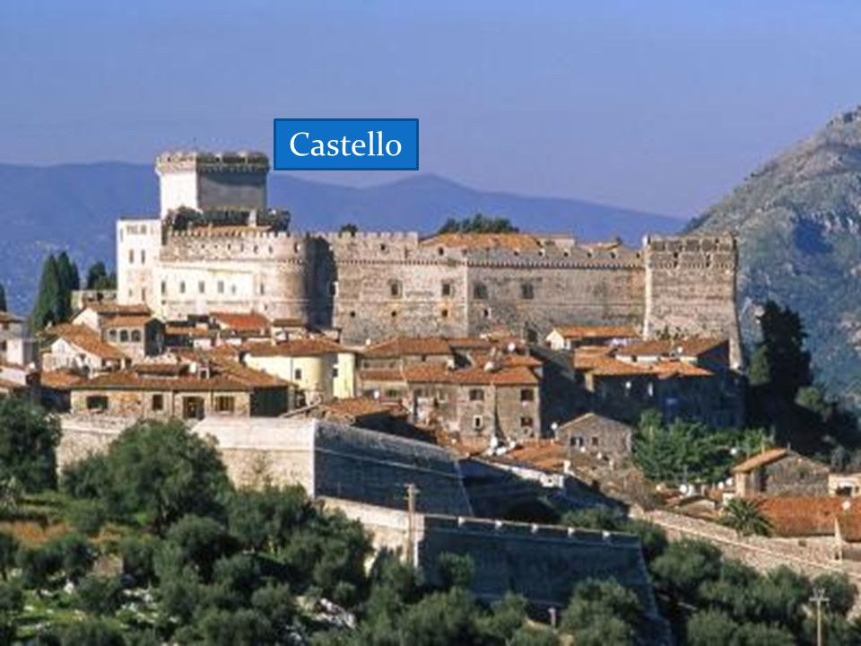 SERMONETA It is a medieval village with high walls round it and a majestic well-preserved castle. Castello