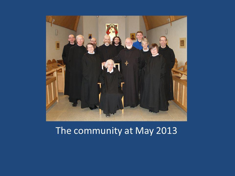 The community at May 2013