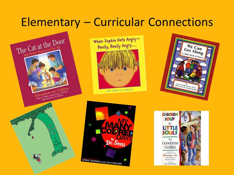 Elementary – Curricular Connections
