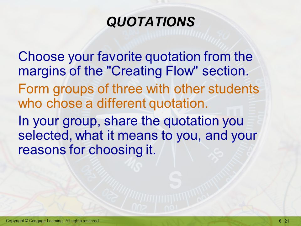 8 | 21 Copyright © Cengage Learning.All rights reserved.