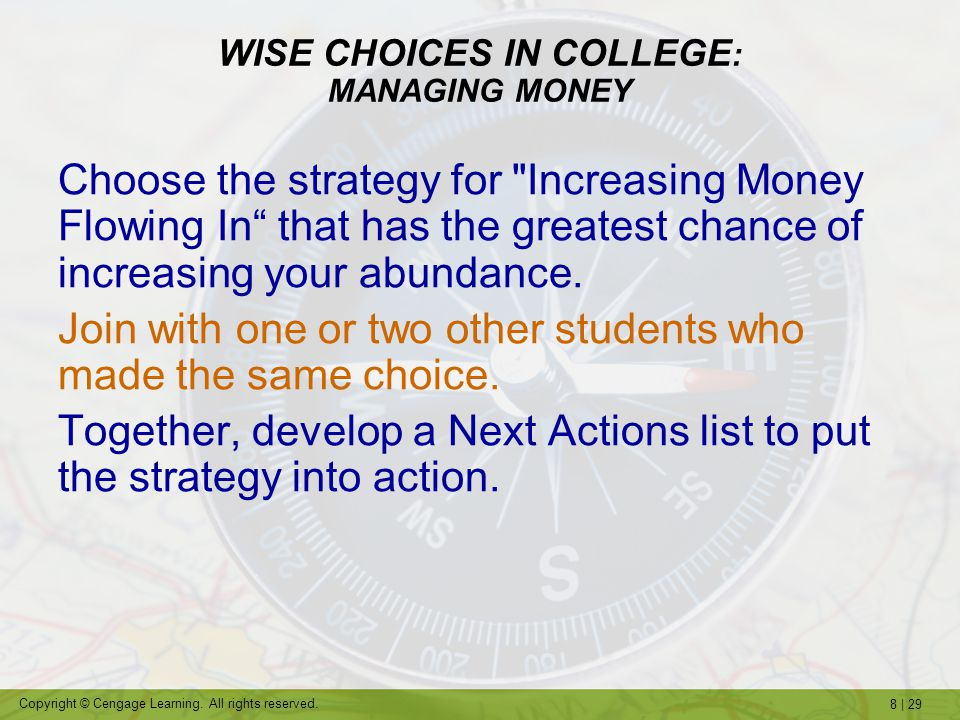 8 | 29 Copyright © Cengage Learning.All rights reserved.