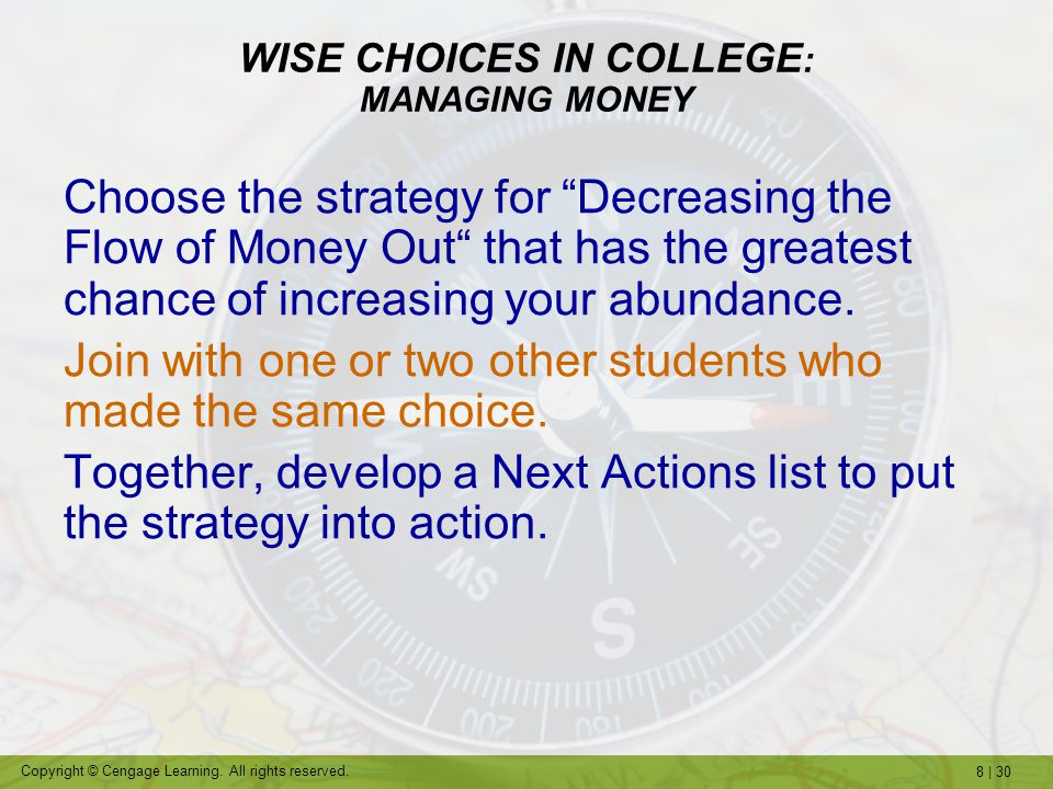 8 | 30 Copyright © Cengage Learning.All rights reserved.