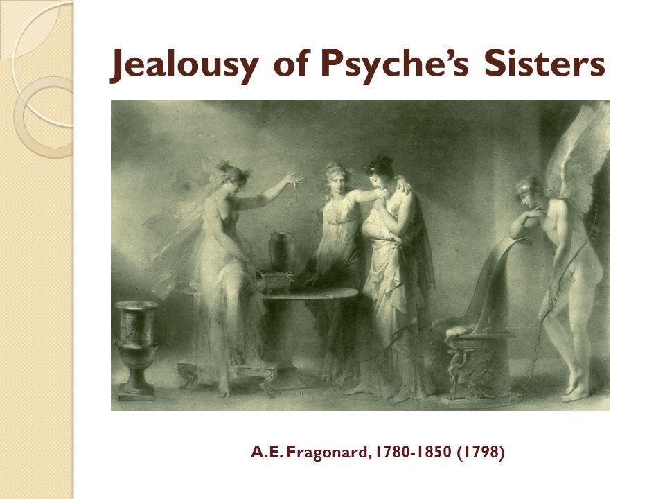 Jealousy of Psyches Sisters A.E. Fragonard, 1780-1850 (1798)